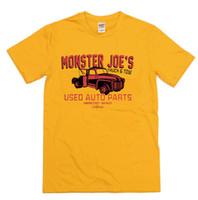 3185681df Monster Joe's Truck & Tow Pulp Fiction Inspired T-shirt - Retro Tarantino  Film Men Women Unisex Fashion tshirt Free Shipping black