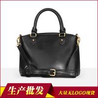 qualität porzellan waren großhandel-Charm2019 Muster Klassische Art Echtes Leder Breite Schöne China Marke Frau Paket Qualitätswaren Handtasche Produktion