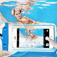 Wholesale iphone water seal for sale – best Universal Swim Luminous Water proof Phone seal Strap diving protect Case For iphone universal all model inch