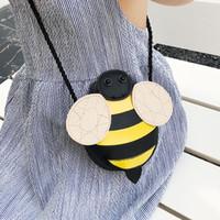 Wholesale cheap animal soft toys online - Cheap Children Handbag Girl Bag Kid Shoulder Bag Kawaii Coin Purse Wallet cartoon Baby Toddler Toy Small Bag