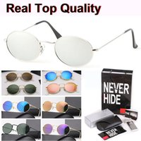 Wholesale vintage classic eyewear for sale - Group buy Classic Oval Sunglasses Men Women Brand designer Vintage Eyewear Driving Sun Glasses with original box packages accessories everything