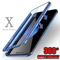 ingrosso display del telefono cellulare anti-Custodia protettiva per display 360 Full Coverage per iPhone X 6/78 8 6/7/8 Plus Fashion Style Anti Cell Phone Cases NUOVO E36