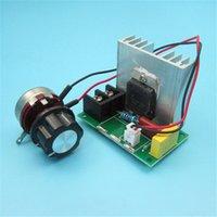 ingrosso motore elettrico ad alta potenza-Regolatore elettronico del tiristore di alto potere 8000W, termostato 220V del regolatore di velocità del trapano elettrico del fan del motore