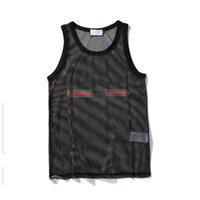 vücut geliştirme giysileri kadınlar toptan satış-Erkekler Tank Top Erkek Spor Vücut Geliştirme Marka Spor Giyim Tasarımcısı Kadın Yelekler Tee Lüks Yaz Boyutu M-XXL Tops