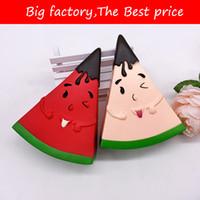 kawaii matschig frucht großhandel-Jumbo Squishy Kawaii Wassermelone Squishy Simulierte Frucht Langsam Steigendes Brot Duft Squeeze Spielzeug Stressabbau für Kinder Weihnachtsgeschenk lol