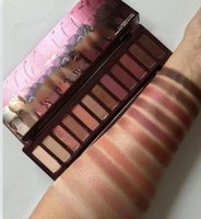 Wholesale eyeshadow lowest price resale online - lowest price hot new arrivals makeup Palette color NUDE Cherry eyeshadow Palette eyeshadow palettes DHL