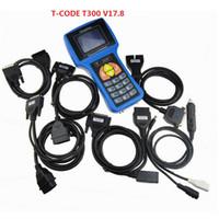 ingrosso codice software di codice-A ++ di qualità T300 T300 chiave auto codice programmatore T Software V 17.8 Supporto multi marca Auto T300 Key Maker
