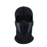 tam yüz maskesi kalkanı toptan satış-Kış Balaclava Moto Yüz Maskesi Motosiklet Yüz Kalkanı Airsoft Paintball Bisiklet Bisiklet Kayak Ordu Kask Tam Yüz Maskesi (Perakende)