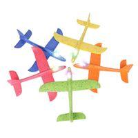 uçan kayıklar oyuncakları toptan satış-2018 DIY Çocuk Oyuncakları El Atmak Uçan Planör Uçaklar Köpük Uçak Modeli Parti Çanta Dolgu Uçan Planör Düzlem Oyuncaklar Çocuklar Için oyun