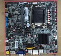 mini itx hdmi wifi al por mayor-Placa base H61 ITX original placa base todo en uno LVDS máquina de publicidad LVDS placa base con puerto sata