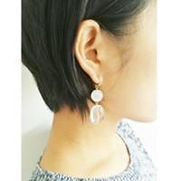 ingrosso cristallo di perline di gatto-Alta qualità Fancy New Style Cat Eye Beaded Crystal ciondola orecchino orecchino di perline moda donna orecchino