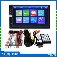 ingrosso sintonizzatore radiofonico del lettore dvd-Yentl 2 DIN DVD 7 pollici HD In Touch Screen USB Stereo BluetoothCar Radio Player Screen Dash Touch 2 MP5 DIN Car