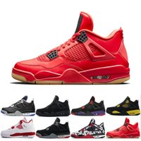 3a0069b7f9896f 4 4s Tattoo black and white graffiti Cactus Jack Raptors Mens Basketball  Shoes Kaws Travis Scotts Money Royalty Bred Fire Red men sneakers