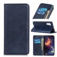 notiz dünner brieftasche fall großhandel-Rindsleder Brieftasche für Samsung Galaxy Note 10 Pro Ultradünne Flip-Cover-Hülle für Samsung Galaxy S10 5G S10e J2 J4 J6 J8 S8 S9 plus