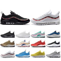 Wholesale red fashion shoes for men resale online - Top Fashion SH Kaleidoscope SEOUL London Summer of love Running Shoes For Men Women Mustard SE Mens Trainers Designer Sports Sneakers
