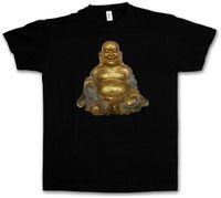 indien buddhismus großhandel-BUDDHA-VINTAGE-T-SHIRT - thailändisches Größen-Discout des Buddhas Govinda Siddartha Gautama India Heiße neue T-Shirt T-Stücke Kundenspezifisches Jersey-T-Shirt