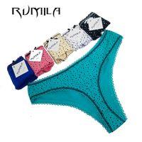 Wholesale lowest price lingerie resale online - lady Lowest price cotton heart multi color Sexy cozy comfortable Briefs thongs women Underwear Lingerie for women