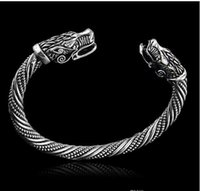 wolfskopf armbänder großhandel-Lakone Teen Wolf Kopf Armband indischen Schmuck Mode-Accessoires Viking Armband Männer kreative Armband 224