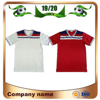 Wholesale uniforms england resale online - 1982 England Retro version Soccer Jersey HOME RED KANE STERLING VARDY RASHFORD DELE Soccer Shirt Away White Football Uniforms