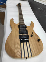 Wholesale china made electric guitar for sale - Group buy Double vibrato electric guitar made in China fit elm six string sandwich series quality assurance free delivery