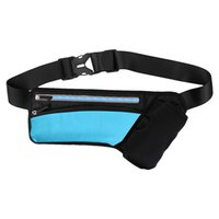 Wholesale waist phone holder for running for sale - Group buy Sport Running Waist Bag Case For Phone X S Plus Huawei P20 Lite Xiaomi Pocophone f1 Pouch Belt With Bottle Holder