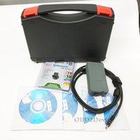 диагностические инструменты vas оптовых-Высокое качество ODIS VAS 5054A Полный чип Bluetooth VAS5054A С OKI Поддержка UDS OBD2 сканер автомобиля диагностический инструмент
