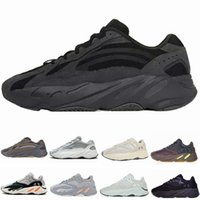 Wholesale lights for sale - Group buy 2019 Static V2 Vanta Wave Runner Running Shoes Men Women Salt Mauve Inertia V2 Kanye West Designer Shoes Sport Sneakers With Box