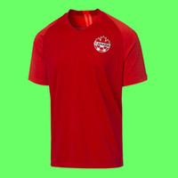 Wholesale 19 Canada men soccer jersey Canada national team football shirt camiseta de fútbol camisa futebol maillot de foot