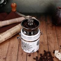 moedor de cerâmica venda por atacado-Manual Moedor De Café Núcleo De Cerâmica Moinho De Café Moinho de Café Grãos De Café Pimenta Tempero Moedor De Cerâmica Grinder Máquina Ferramenta