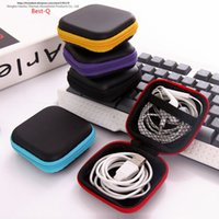 Wholesale toy finger shoes for sale - Group buy mobile phone data line charger finger tip gyro packing box earphone storage bag EVA earphone