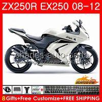 Wholesale kawasaki ninja online - Body For KAWASAKI NINJA EX ZX R ZX250 R EX Kit HC EX250 ZX250R Fairing pearl white