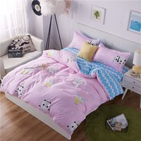 Wholesale animal bedding duvet set for sale - Group buy Cartoon Animals Bedding Set For Kids Cute High End Duvet Cover King Size Queen Full Twin Single Comfortable Bed Cover with Pillowcase