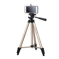 Wholesale iphone dslr for sale - Group buy Portable Phone Tripod Digital DSLR Camera Tripod Stand For Canon Nikon DSLR Camera Mobile Phone Clip Holder For Xiaomi iPhone