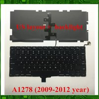 Wholesale macbook a1278 keyboard for sale - Group buy NEW For Macbook Pro quot A1278 US keyboard with backlight YEARS