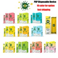 Wholesale In Stock POP Disposable Device Pod Starter Kit mAh Battery ml Cartridge Vape Empty Pod Pen With colors