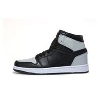 ördek basketbol ayakkabıları toptan satış-2018 Erkek 1 OG En Erkekler Basketbol Ayakkabıları OG YENI Sneaker Kaliteli Mandarin ördek Eğitmen moda lüks tasarımcı sandalet ayakkabı