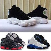 Wholesale 47 sneakers 13 for sale - Group buy 2019 new mens white Flu Game UNC Gym red taxi gamma french Bordeaux Dark Grey wool basketball shoes blue Suede sports sneaker eur36