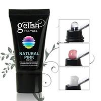 pregos bonder venda por atacado-Poly Gel Nail Polish Para extensões de unhas de cristal poli Gelish unhas de gel Manicure Art Ferramenta RRA1256