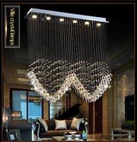 modern avizeler kalp toptan satış-Lüks Kristal avize lamba Salon parıltı sala de kristal Modern Avize asılı Işık kalp şekli Düğün Dekorasyon