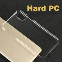 Wholesale iphone 6s crystal clear case online - Clear Crystal Transparent Plastic Hard Back Case Sublimation printing Cases Cover For iPhone XS MAX XR X Plus SE