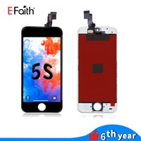 EFaith LCD Display Touch Screen Digitizer Full Assembly For iPhone 5S Replacement Repair Parts with free dhl