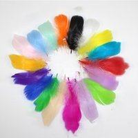 Wholesale clothes for weddings resale online - 8 cm DIY Feathers Decorative Feathers For Dream Catcher Making Clothing Wedding Accessories DIY Decor Feathers KKA7051