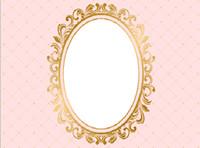 lumières de douche de bébé achat en gros de-7x5FT Rose Clair Diamants Mur Miroir Fille Baby Shower Personnalisé Photo Studio Toile De Fond Fond Vinyle 220 cm x 150 cm