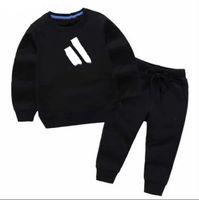 штаны для мальчика спортивные костюмы оптовых-Горячая продажа Brand Детские костюмы весна осень Baby Boy девушка хлопок Полный рукавами куртка + брюки 2pcs / наборы для мальчиков Kid Одежда Set Baby набор
