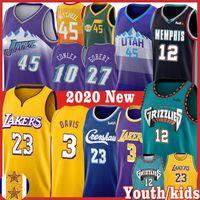 Wholesale basketball jerseys lebron resale online - LeBron NCAA Ja Morant Men kids James Donovan Mitchell Kawhi Davis Jersey Gobert Rudy