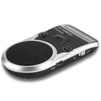 Wholesale solar bluetooth car kits for sale - Group buy Solar Speakerphone Car Kit Car MP3 Player Bluetooth Handsfree Calling LCD Display Sun Visor Tips