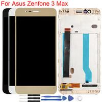 оригинал asus zenfone lcd экран оптовых-Оригинальный X008D LCD для Asus Zenfone 3 Max ZC520TL Дисплей с рамкой Сенсорный экран в сборе Для Asus Zenfone 3 Max ZC553KL LCD