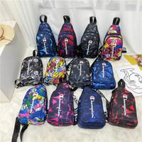 Wholesale one shoulder cloth bags resale online - Brand Champion Belt Waist Bag Unisex Oxford Cloth Chest Bag Luxury Crossbody Bum Shoulder Bag Double Zip Fany Pack Handbags Backpack C102102