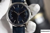 Wholesale stainless steel round liners for sale - Group buy Luxury watch bright blue sapphire liner Delicate sanding process plus electroplated platinum processing automatic mechanical movement