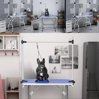 Wholesale stainless steel pet grooming table for sale - Group buy 36 Folding Dog Pet Grooming Table Heavy Duty Stainless Steel pet dog Cat Grooming Table Bedroom Decoration In Stock
